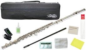 Kaerntner ( ケルントナー ) KFL29 リングキイ フルート 新品 銀メッキ Eメカニズム付き 管楽器 C管 本体 頭部管 足部管 Open Hole flute KFL-29 セット A