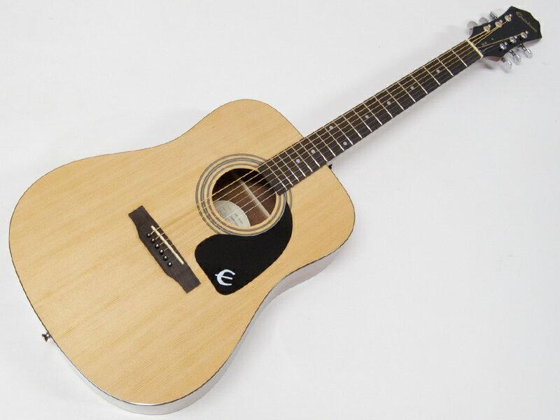 EPIPHONE ( エピフォン ) DR-100(NAT) AGスタートパック10点セット【初心者 入門 アコースティックギター セット】 【by ギブソン アコースティックギター 】