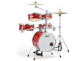 Pearl ( パール ) RT-645N/C 94 キャンディアップルレッド【 リズムトラベラー Version 3Sキッズ用 子ども用 ドラムセット】
