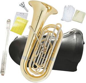 PRESON ( プレソン ) PRB-103 チューバ B♭ 4ピストン フロントアクション 3/4サイズ 管楽器 管体 ゴールド ピストンチューバ 小型 PRB103 CL 北海道/沖縄/離島/代引き不可