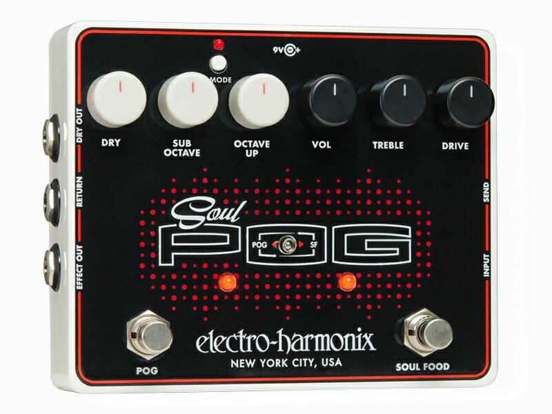 Electro Harmonix ( エレクトロハーモニクス ) SOUL POG【オーバードライブ・オクターブ エレハモ 】 ◆ コンパクトエフェクター
