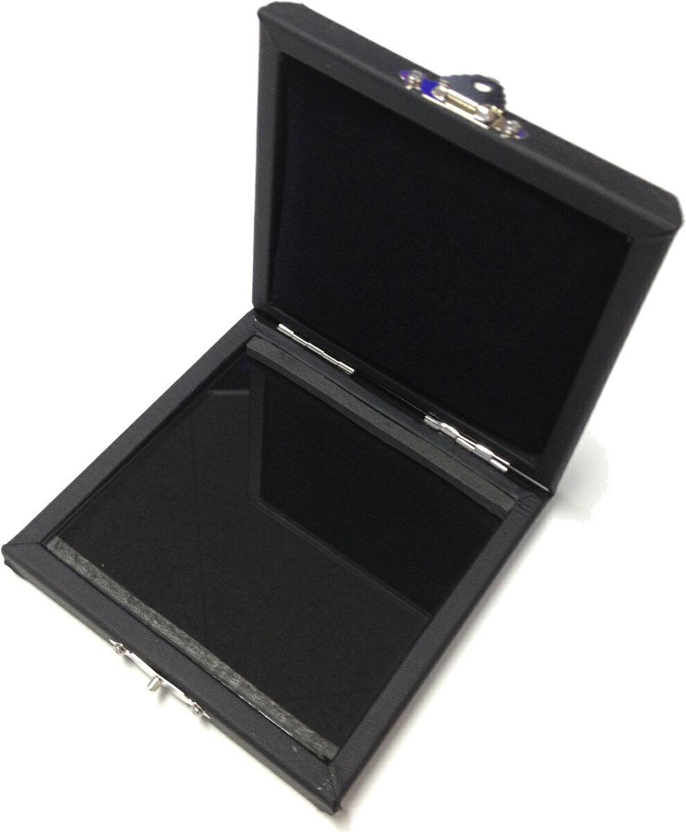 [ メール便 対応可 ] GALAX ( ギャラックス ) リードケース GC-P クラリネット 6枚 アルトサックス 5枚 兼用 リード 収納 ケース 合皮張 ブラック 管楽器 GCP REED CASE BLACK