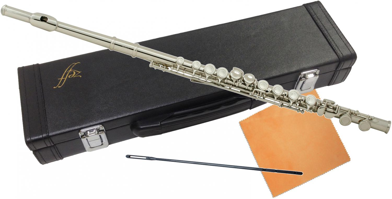 ZEFF ( ゼフ ) 調整品 フルート ZFL-30 新品 銀メッキ Eメカニズム付き 初心者 カバードキイ 頭部管 主管 足部管 管楽器 本体 C管 flute ZFL30 送料無料