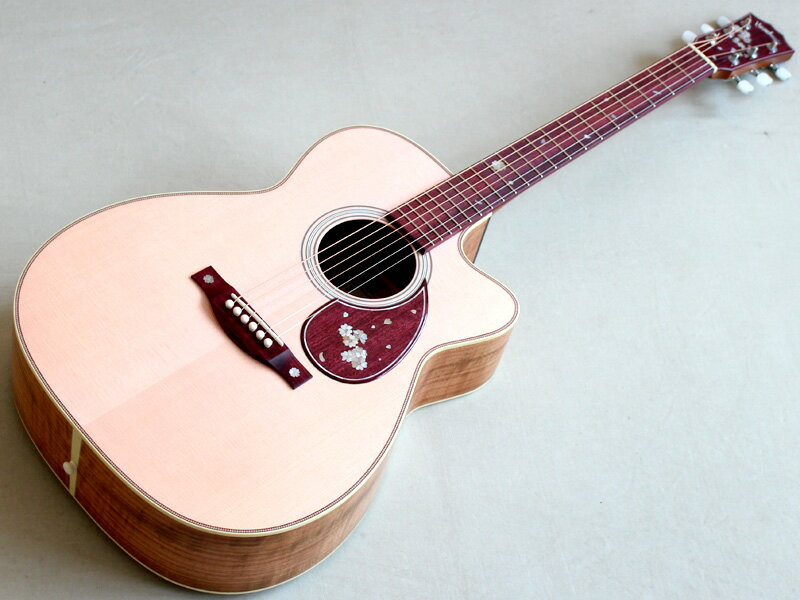 Headway ( ヘッドウェイ ) Custom Shop HC-KYOSAKURA 【オーダーモデル 京桜 国産アコースティックギター KH】
