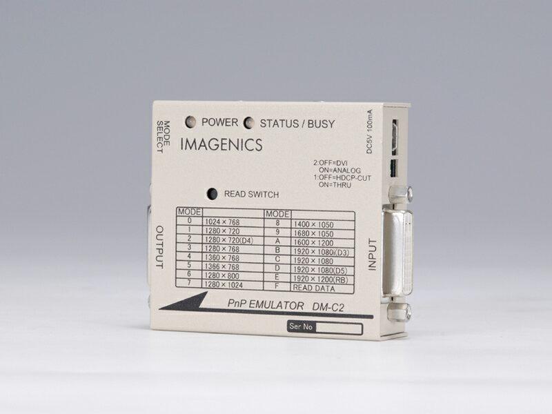 IMAGENICS ( イメージニクス ) DM-C2 ◆ DVI プラグアンドプレイエミュレーター [ 映像・音声関連機器 ]