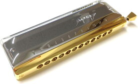 HOHNER ( ホーナー ) クロマチックハーモニカ アマデウス 7544/48 12穴 3オクターブ クリスタル 樹脂ボディ 金メッキ マウスピース ハーモニカ 送料無料