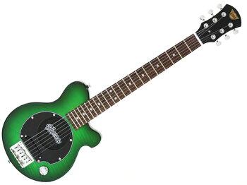 Pignose(ピグノーズ)PGG-200FM(SGR)【アンプ内蔵エレキギターミニギター】【春特価!】PGG200フレイムメイプル