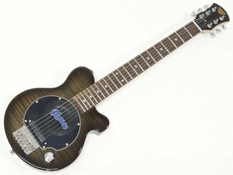 Pignose ( ピグノーズ ) PGG-200FM SBK【アンプ内蔵 エレキギター ミニギター 】【春特価! 】 PGG200 フレイムメイプル
