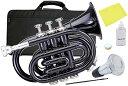 Kaerntner ( ケルントナー ) KTR33P BK ポケットトランペット ブラック 新品 ミニトランペット 管楽器 サイレンサー …