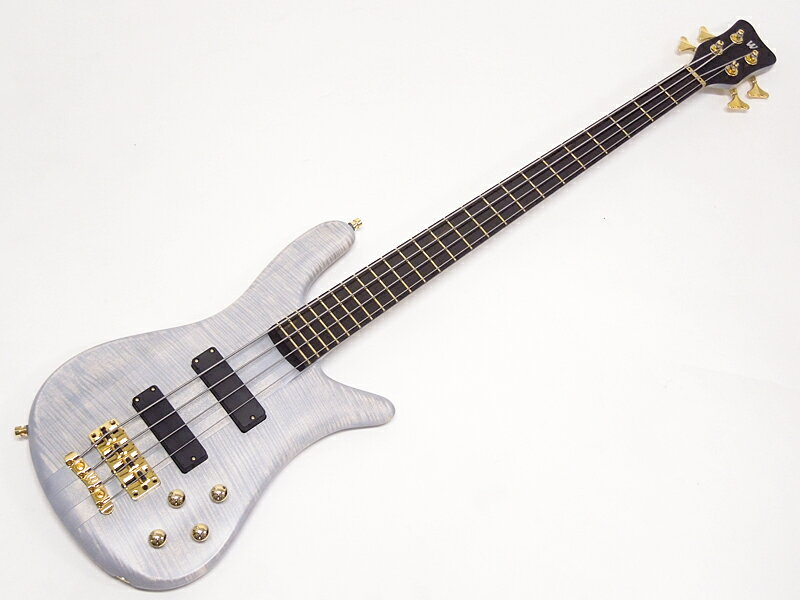 Warwick ( ワーウィック ) Custom Shop Streamer Stage I 4st 1990 type Limited Edition / See Through White【カスタムショップ製 WO】