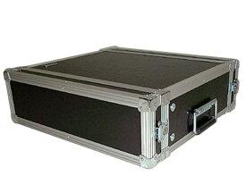 ARMOR ( アルモア ) 3U RACKCASE D450mm 黒 ◆ ラックケース FRP ラックエフェクター・アウトボード・パワーアンプ等 収納
