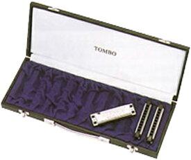 TOMBO ( トンボ ) 10HC-12 ブルースハーモニカ用 ハードケース 10穴 ハーモニカ 12本収納 ブルースハープ型 12本 ケース 10HC12 10holes Harmonica case