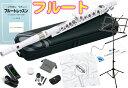 NUVO ( ヌーボ ) ホワイト フルート プラスチック製 管楽器 スチューデントフルート 白色 Student Flute プラスチック…