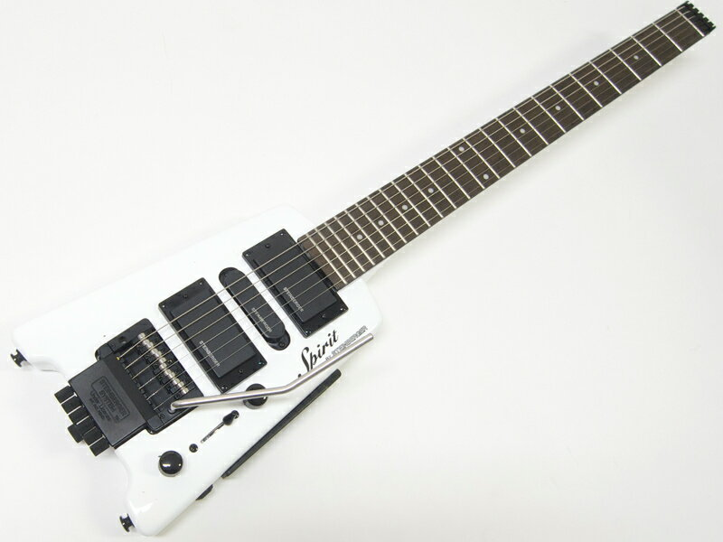 STEINBERGER ( スタインバーガー ) Spirit GT-PRO Deluxe(WH) 【ヘッドレス エレキギター】