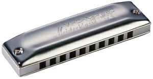 HOHNER ( ホーナー ) 【 D調 】 Meister Klasse MS 580/20 10穴 テンホールズ ハーモニカ マイスタークラス ブルースハープ型 アルミボディ Blues Harmonica メジャー