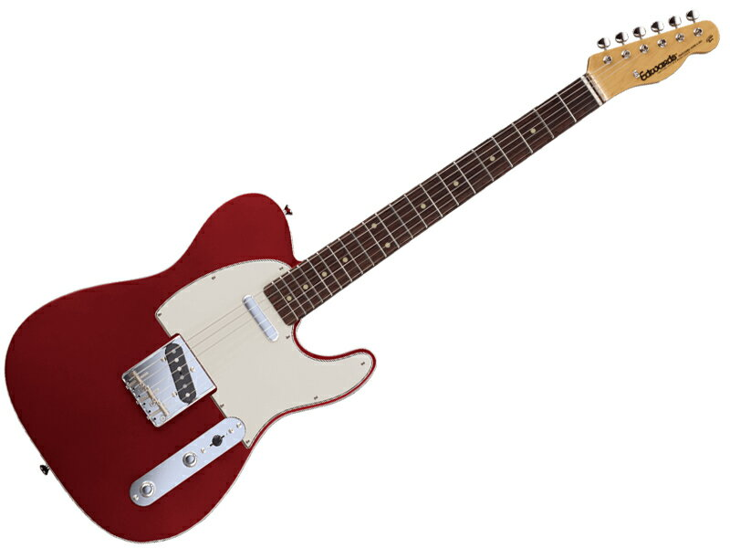 EDWARDS ( エドワーズ ) E-TE-98CTM ( Candy Apple Red )【エレキギター】【C3670 ジェットグロス プレゼント 】