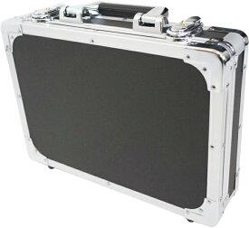エフェクターケース Sサイズ ブラック セパレートタイプ 箱形 ハードケース 楽器 エレキギター カラー エフェクトボード 黒色【 C40 BK 】