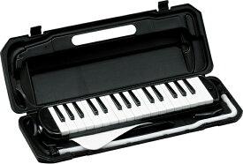 KC ( キョーリツコーポレーション ) P3001-32K BK ブラック 32鍵 鍵盤ハーモニカ メロディーピアノ 立奏用唄口 卓奏用パイプ ケース Melody Piano black 黒色 鍵盤楽器 一部送料追加 北海道/離島/沖縄は送料実費