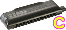 HOHNER ( ホーナー ) CX12 Black クロマチックハーモニカ 7545/48B C調 CX-12 ブラック 12穴 chromatic harmonica ハーモニカ 楽器