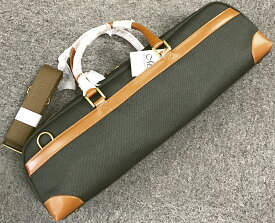 M's ( エムズ ) MFC/2 オリーブ フルートケース ハードケース用 ケースカバー ショルダー 管楽器 ケース C管 H管 flute case cover OLIVE 北海道/沖縄/離島/同梱不可