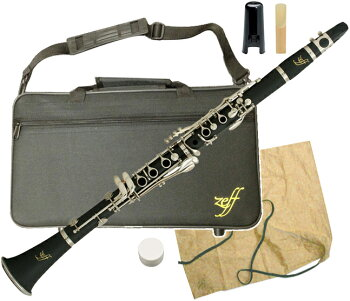 ZEFF(ゼフ)ZCL-30クラリネット新品樹脂製B♭本体初心者管楽器プラスチック製管体マウスピースケース楽器clarinetZCL30一部送料追加送料無料(北海道/沖縄/離島不可)