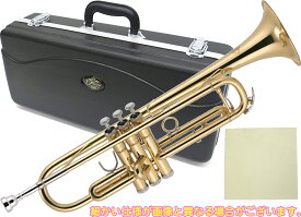 J Michael ( Jマイケル ) TR-200 トランペット 新品 アウトレット 初心者 管楽器 管体 ゴールド B♭ 本体 ケース Trumpet TR200  北海道 沖縄 離島不可