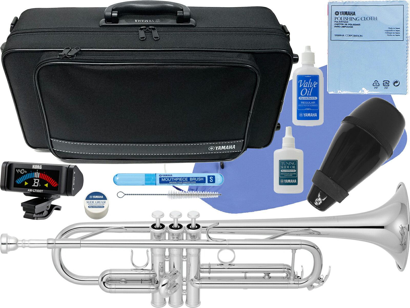 YAMAHA ( ヤマハ ) YTR-4335GS2 銀メッキ トランペット 新品 ゴールドブラスベル B♭ 管楽器 本体 trumpet YTR-4335GS-2 【 YTR-4335GSII セット E】 送料無料
