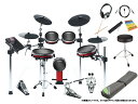 ALESIS ( アレシス ) CRIMSON II KIT スターターセット ツインペダル + セッティングマット 電子ドラム エレドラ セット