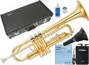 YAMAHA ( ヤマハ ) YTR-2330 トランペット 新品 ゴールド 管楽器 B♭Trumpets YTR-2330-01 本体 セット サイレントブ…