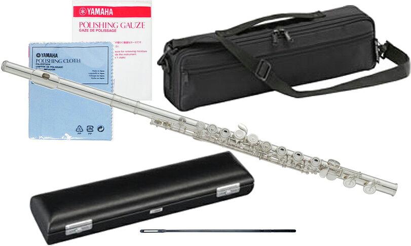 YAMAHA ( ヤマハ ) YFL-212 フルート 新品 調整品 Eメカニズム付き 銀メッキ カバードキイ オフセット CY 頭部管 主管 足部管 管楽器 standard flute 送料無料