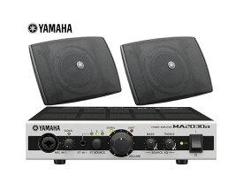 YAMAHA ( ヤマハ ) VXS3F ブラック (1ペア) 天井吊り下げ/壁面取付 LOWセット(MA2030a)【( VXS3F x1ペア+MA2030a x1)】 [ 送料無料 ][ VXS series ]