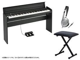KORG ( コルグ ) LP-180 BK キーボードベンチセット【9/22入荷予定 】 ◆ 【電子ピアノ】【88鍵盤】【キーボード】