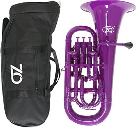 ZO ( ゼットオー ) ユーフォニアム EU-04 パープル 調整品 新品 アウトレット 4ピストン プラスチック製 B♭ 本体 管楽器 樹脂製 紫色 EU04 purple 楽器 一部送料追加 北海道/沖縄/離島不可=送料実費請求