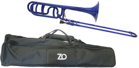 ZO ( ゼットオー ) トロンボーン 太管 TB-10 ダークブルー 調整品 新品 プラスチック テナーバストロンボーン tenor bass trombone dark blue 北海道 沖縄 離島不可