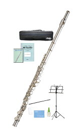 Kaerntner ( ケルントナー ) KFL28 フルート 銀メッキ 新品 Eメカニズム付き カバードキイ C管 頭部管 主管 足部管 管楽器 Flute Silver KFL-28 セット D
