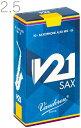 [ メール便 のみ 送料無料 ] vandoren ( バンドーレン ) SR8125 アルトサックス V21 リード 2-1/2 1箱 10枚入り E♭…