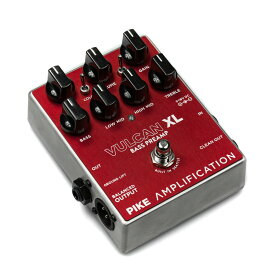 Pike Amplification Vulcan XL Bass Overdrive Preamp 【ベース オーバードライブ・プリアンプ 】