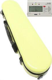CCシャイニーケース II フルートケース パステルイエロー 黄色 CC2-FL-PY ハードケース フルート用 ケースカバー ケース イエロー C管 H管 セット N 送料無料