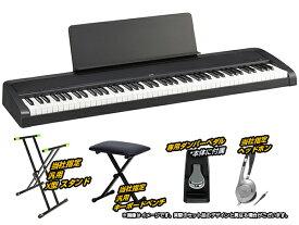 KORG ( コルグ ) B2-BK 簡易練習セット ◆ 【デジタルピアノ】【[数量限定/専用ダストカバープレゼント][ID 114919] 台数限定特価 】 ◆【電子ピアノ】【88鍵盤】【ピアノタッチ】
