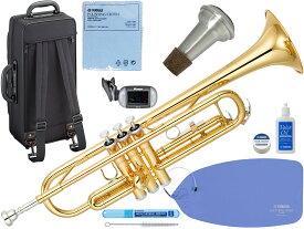 YAMAHA ( ヤマハ ) YTR-3335 トランペット リバースタイプ ゴールド 新品 1本支柱 管楽器 B♭ 管体 リバース管 本体 正規品 【 YTR3335 gold セット B】 送料無料