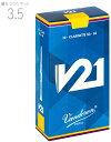 [ メール便 のみ 送料無料 ] vandoren ( バンドーレン ) CR8035 B♭ クラリネット用 V21 リード 3.5番 3半 10枚入り…