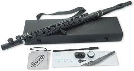 NUVO ( ヌーボ ) N230SFBK プラスチック フルート ブラック 管楽器 スチューデントフルート ストレート頭部管 plastic student flute black 北海道 沖縄 離島不可