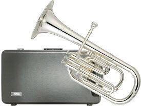 YAMAHA ( ヤマハ ) YAH-203S アルトホルン E♭管 銀メッキ 3ピストン バルブシステム トップアクション 管楽器 alto horns Eフラット 送料無料(北海道/沖縄/離島/代引き不可)
