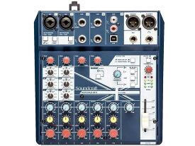 SOUND CRAFT ( サウンドクラフト ) Notepad 8FX ◆ 8ch小型ミキサー エフェクター搭載 PCとUSB接続でオーディオインターフェースとしても使用できます [ 送料無料 ]