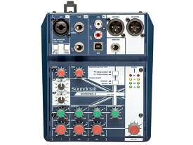 SOUND CRAFT ( サウンドクラフト ) Notepad 5 ◆ 5ch小型ミキサー PCとUSB接続でオーディオインターフェースとしても使用できます [ 送料無料 ]