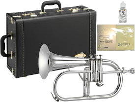JUPITER ( ジュピター ) JFH1100RS フリューゲルホルン 新品 銀メッキ 管楽器 シルバーメッキ B♭ 本体 ローズブラスベル Flugelhorn JFH-1100RS 北海道 沖縄 離島不可