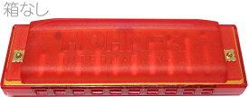 【今だけメール便のみ送料無料 保証なし】 HOHNER ( ホーナー ) ハッピーカラーハープ レッド 515/20 red 赤色 10穴 ブルースハープ型 C調 ハーモニカ カラー ハープ Happy Color Harp ブルースハーモニカ