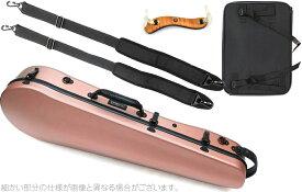 Carbon Mac ( カーボンマック ) CFA-2 サテン ビオラケース S- PKG ピンクゴールド リュックタイプ ハードケース viola hard cases satin pink gold AB-201 肩当て セット E