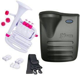 NUVO ( ヌーボ ) jHORN N610JHWPK ホワイト ピンク Jホーン プラスチック製 管楽器 ホルン アルトホルン ジェイホーン J HORN white pink WH PK