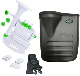 NUVO ( ヌーボ ) jHORN N610JHWGN ホワイト グリーン Jホーン プラスチック製 管楽器 ホルン アルトホルン ジェイホーン J HORN white green WH GN
